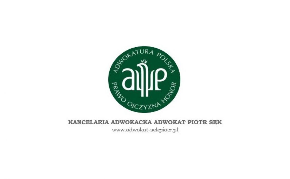 Logo Adwokat Piotr Sęk